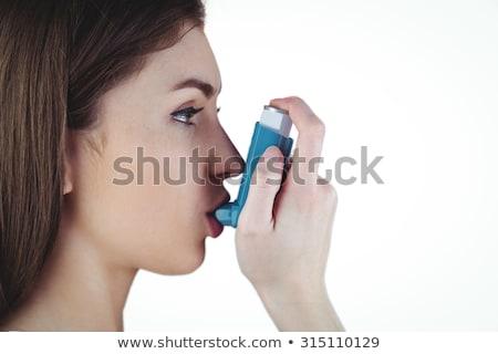 Foto stock: Bastante · morena · mulher · saúde · feminino · belo