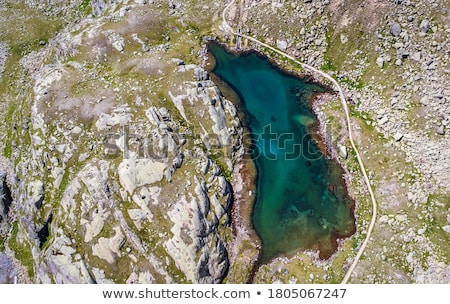 alpine landscape in pejo valley stock photo © antonio-s