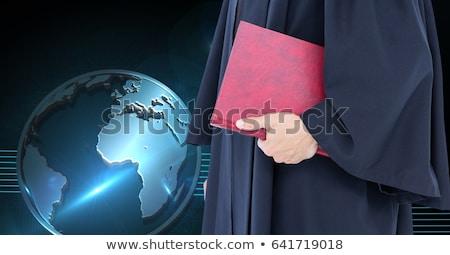 Feliz guapo abogado código Foto stock © wavebreak_media