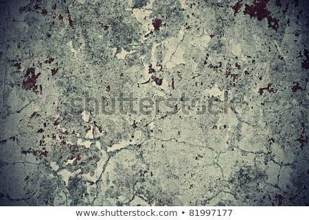 Giallo bianco vernice grezzo superficie muro Foto d'archivio © meinzahn