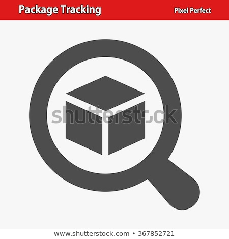 Package Tracking Icon Stock photo © WaD