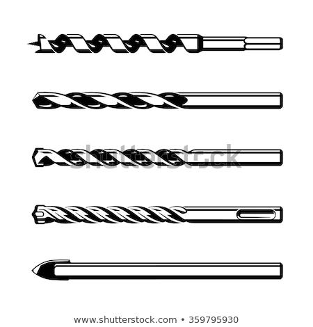 Glass drill bit Stock photo © coprid