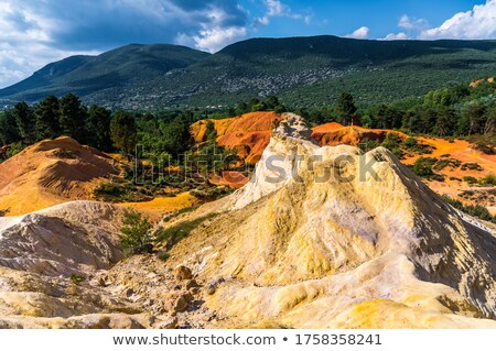 Colorado · Francja · podróży · rock · Europie · dekoracje - zdjęcia stock © tilo