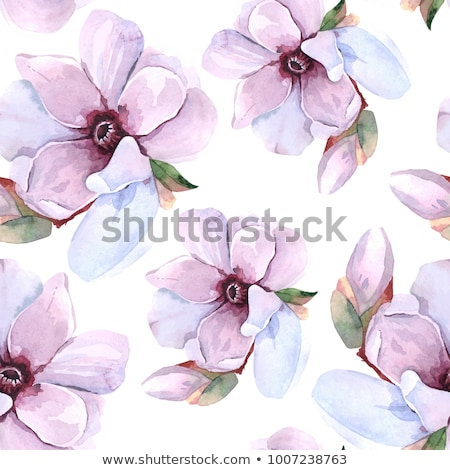 spring floral sakura seamless pattern vector illustration stock photo © carodi