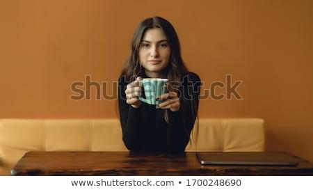 jonge · vrouw · bril · zoeken · iets · business · meisje - stockfoto © deandrobot