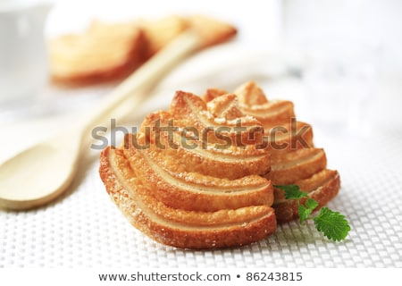 Italian puff pastry cookies Stock photo © Digifoodstock