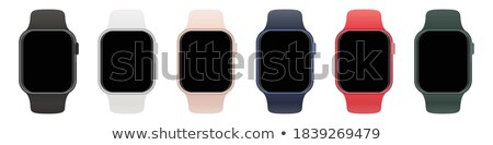 Smartwatch Set with Blank Display, Front View Stock photo © make