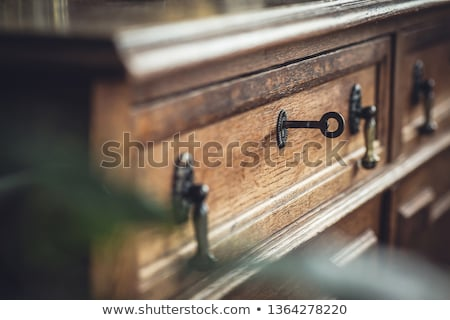 антикварная ключами мелкий свет домой Сток-фото © danielgilbey