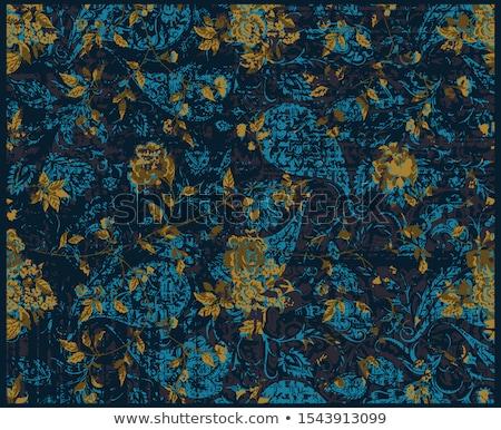 abstrato · artístico · criador · indiano · floral - foto stock © pathakdesigner