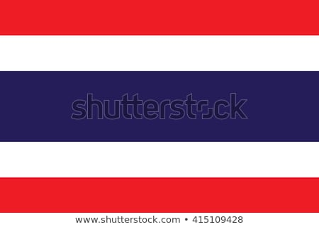 Flag of Thailand Stock photo © bestmoose