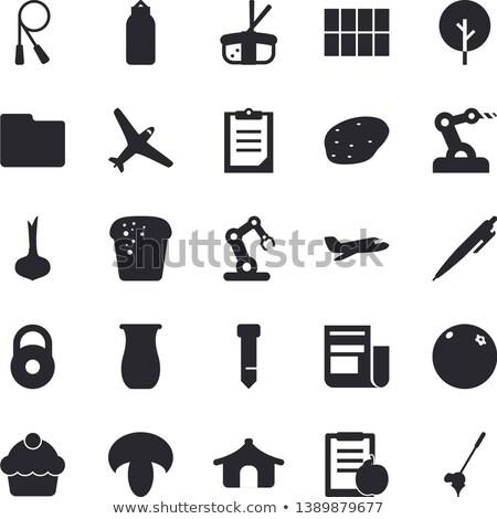 industry news concept on clipboard 3d stock photo © tashatuvango