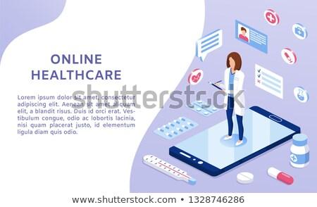Diagnosis - Medication. Medicine Concept. 3D Illustration. Stock photo © tashatuvango