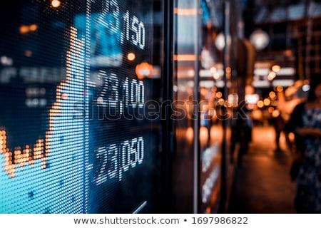 Financial data Stock photo © bedo