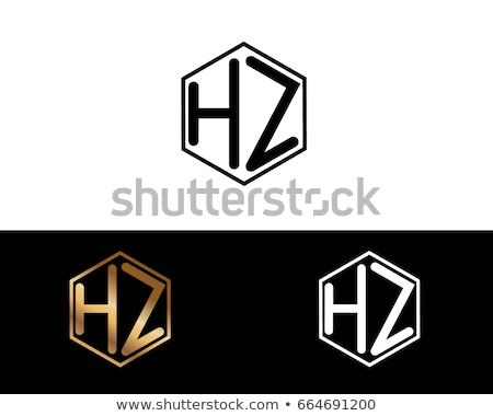 initial letter Z H logo template. Alphabet Symbol for Corporate  stock photo © taufik_al_amin