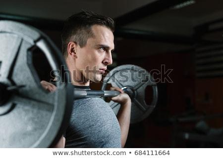 若い男 実例 男 ボディ フィットネス ストックフォト © bluering