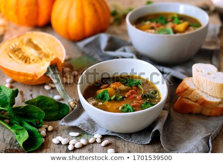 Pompoen rustiek voedsel Rood lunch Stockfoto © zoryanchik