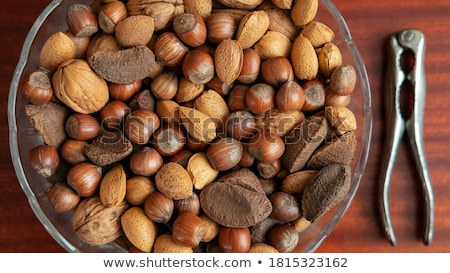 Bowl with yummy walnuts Stock photo © dash
