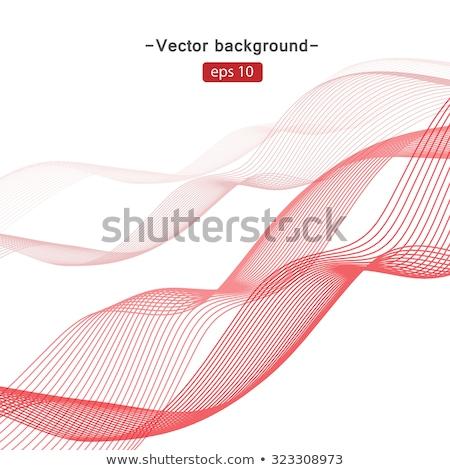 Abstract kleurrijk vector kleur golf ontwerp Stockfoto © fresh_5265954