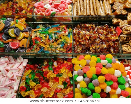 candy sweets colorful shop varied jelly stock photo © lunamarina