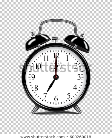 vetor · isolado · transparente · relógio · ícone - foto stock © adamson