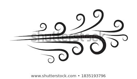 Bobo desenho animado voar ícones expressões Foto stock © cthoman
