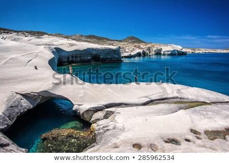 пляж острове Греция мнение один красивой Сток-фото © taviphoto