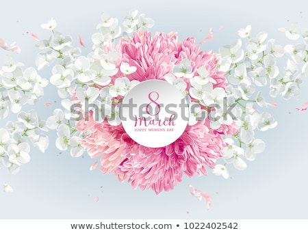 Spring flowers for 8 March Stock photo © LisaShu
