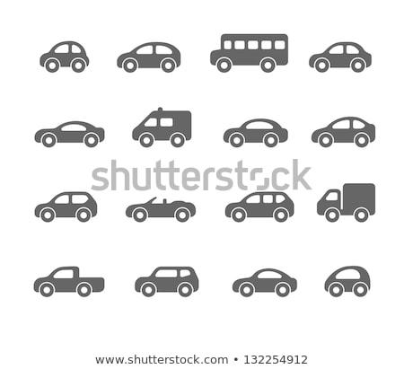 Ambulância carro vetor ícone isolado branco Foto stock © smoki
