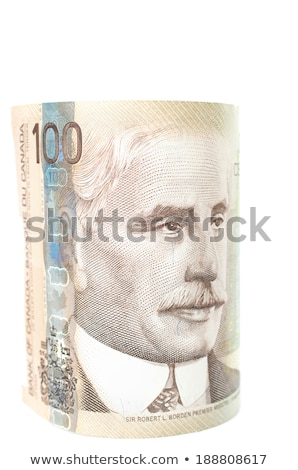 a roll of canadian dollars Stock photo © devon