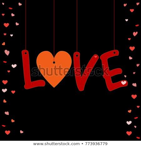 3 Arrows Heart Header Stock photo © limbi007