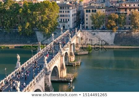 Vatikán · híd · kilátás · szent · épület · városi - stock fotó © givaga