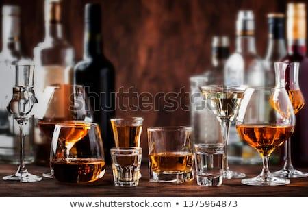 Assortment of alcoholic drinks Stock photo © Alex9500