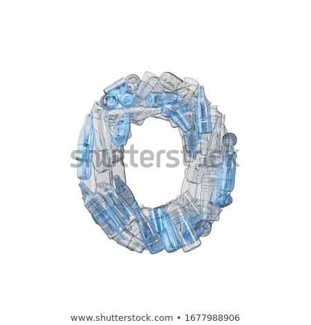 番号 ゼロ プラスチック 廃棄物 ボトル 汚染 ストックフォト © lightkeeper