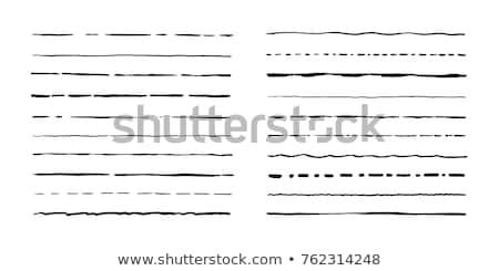 hand drawn set of fashion illustration, background and icons of  Stock photo © Margolana
