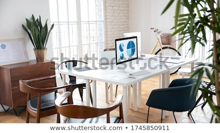 Cozy Coworking Center, Work Place for People Stock photo © robuart