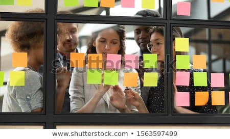 Executive Writing Kanban Plan And Schedule Stock photo © AndreyPopov