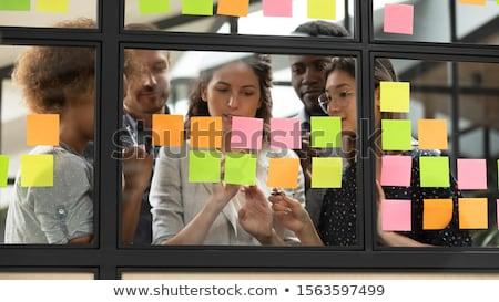 Executive schriftlich Plan Zeitplan Business Stock foto © AndreyPopov