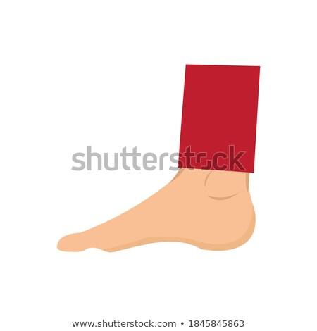 Grunge lenyomat emberi ujj egyszerű fekete Stock fotó © evgeny89