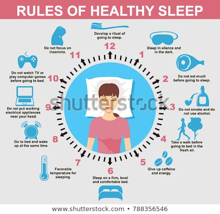 Sleep deprivation abstract concept vector illustration. Stock photo © RAStudio