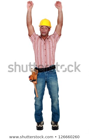 Tradesman stretching Stock photo © photography33