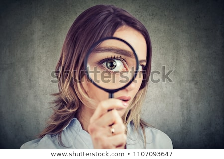 scrupulous woman Stock photo © photography33
