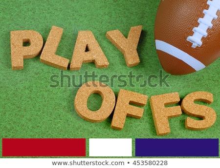 Inglaterra colorido juguete cartas corcho textura Foto stock © happydancing