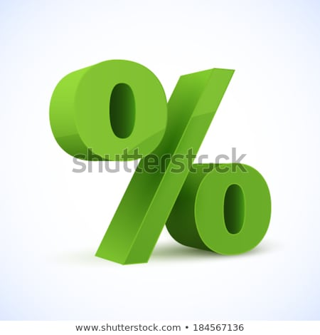 Signs of percent  Stock photo © Ciklamen