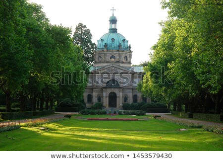 old graveyard in freiburg stock photo © prill