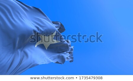Political Waving Flag Of Somalia Сток-фото © Myvector