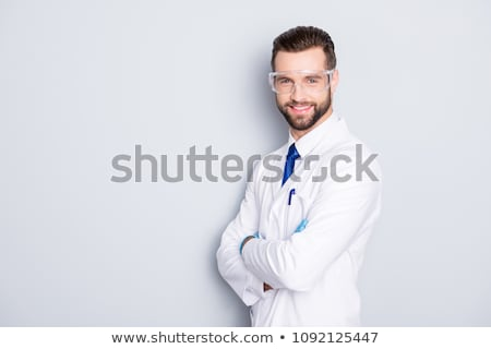 a scientist and his assistant Stock photo © photography33