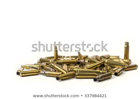 Lövedék használt haj szarvas csapdába esett oldal Stock fotó © willeecole
