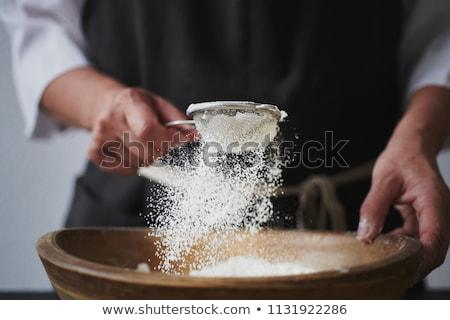 Flour sieve Stock photo © sumners