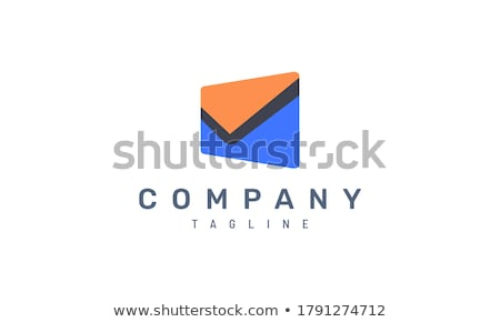 abstract mail  button stock photo © rioillustrator