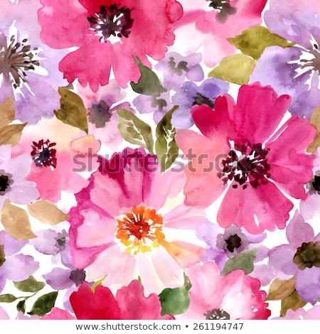 ストックフォト: 花 · 抽象的な · パターン · 自然 · 庭園 · 背景